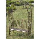 Greenfingers Stamford Rose Arch Bench