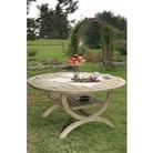 Roma Spruce Garden Table