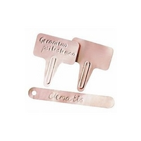 Burgon and Ball Copper Tags
