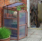 Wooden 3 tier growhouse