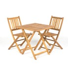 Greenfingers Harrington 2 Person Square Patio Set