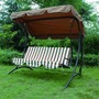 Greenfingers Deluxe 3-Seater Swing Seat