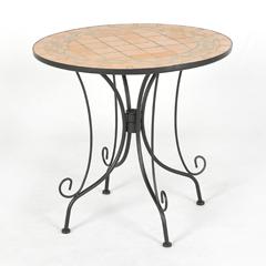 Ellister Terracotta Mosaic Bistro Table