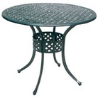 Greenfingers Stamford 85cm Round Table - Light Grey