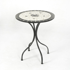 Ellister Milano Rose Design Patio Table