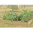Greenfingers Large Rectangular Raised Bed
