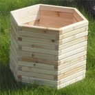 Greenfingers Elite Large Hexagonal FSC Planter