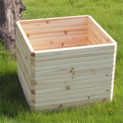 Greenfingers Large Elite Square FSC Planter