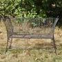 Worcester High Sided Metal Garden Bench