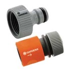 Gardena Dual Pack Threaded Tap Connector