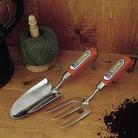 Stainless Steel Trowel & Fork Set